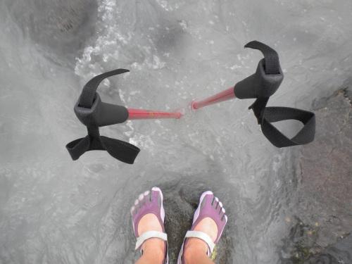 Inför vad i nära nollgradigt smältvatten från glaciär. Fotvård med glacial lera!